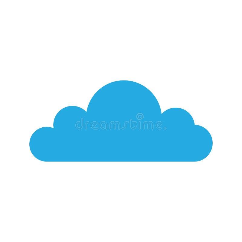 云彩模板传染媒介 库存例证