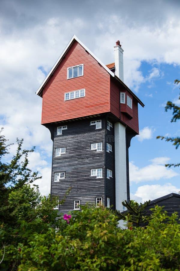 云彩的议院, Thorpeness,萨福克,英国 免版税库存照片
