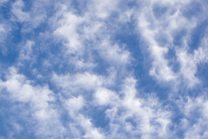 云彩细丝 库存照片