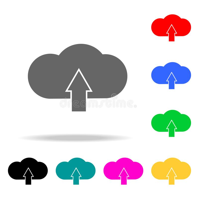 云彩装载标志象 人的网色的象的元素 优质质量图形设计象 网站的简单的象,网des 皇族释放例证