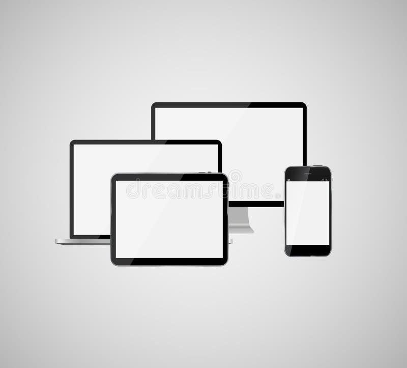 云彩计算的企业概念传染媒介例证 库存例证
