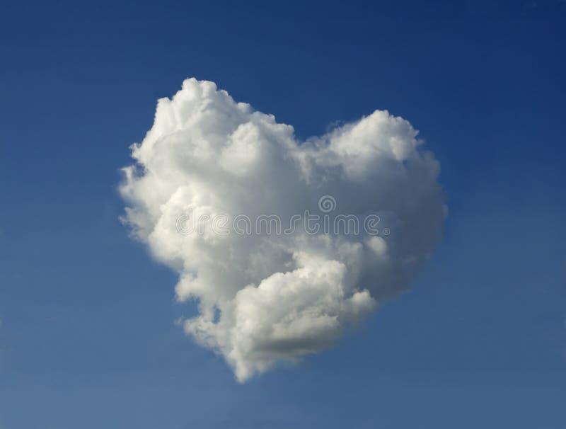 云彩重点形状 库存图片