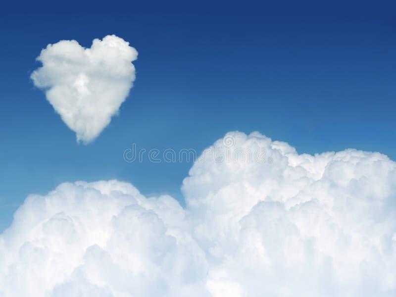 云彩重点 库存图片