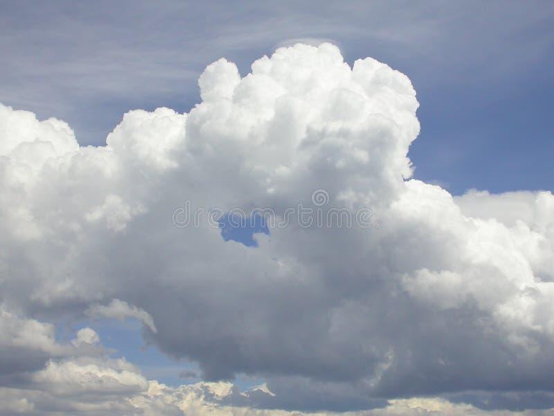云彩雷 库存照片