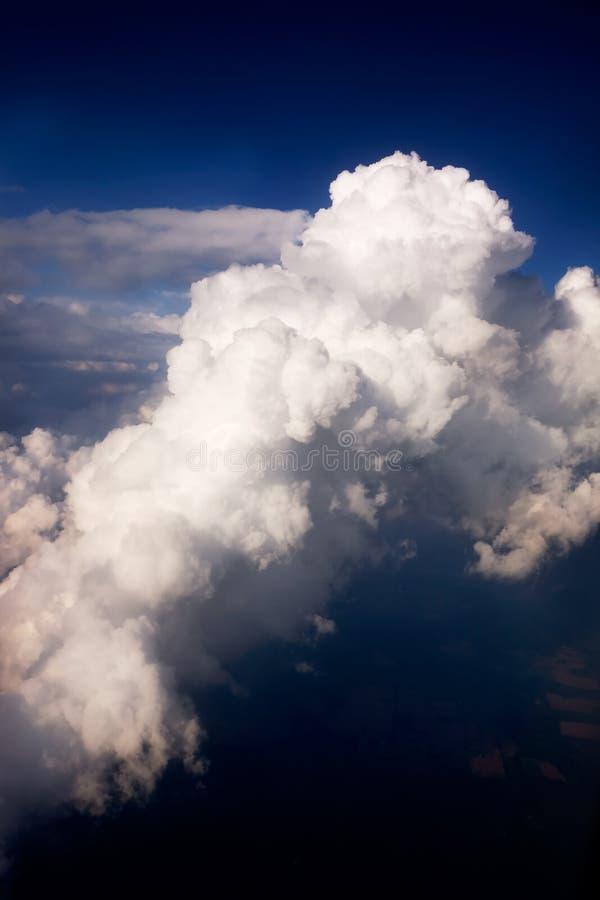 云彩风暴 库存照片