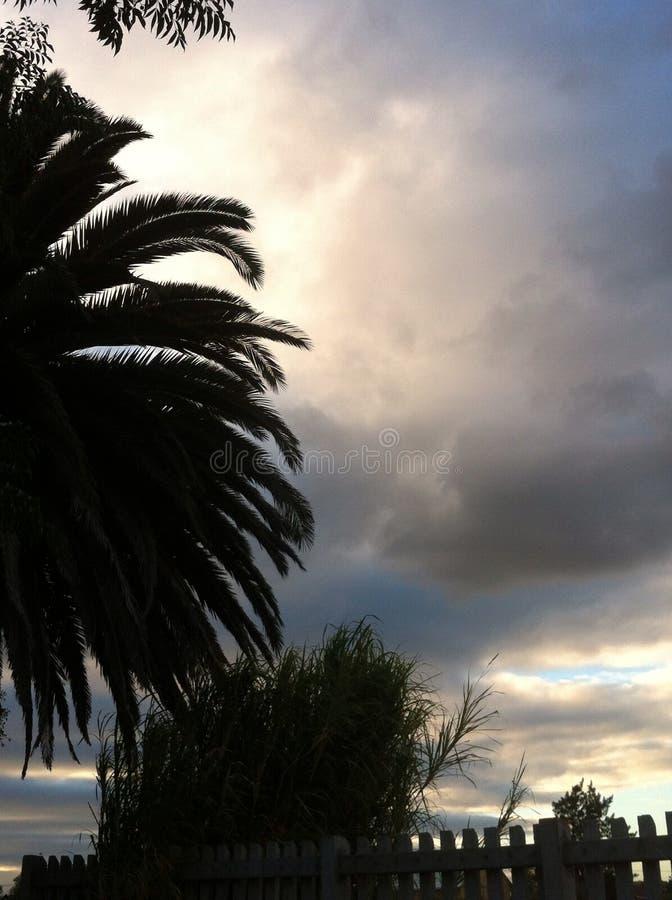 云彩魔术 库存图片