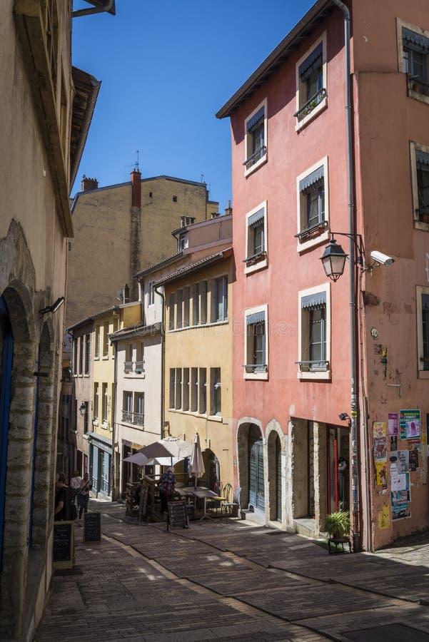 云香Burdeau在红十字山区,利昂,法国 免版税库存图片