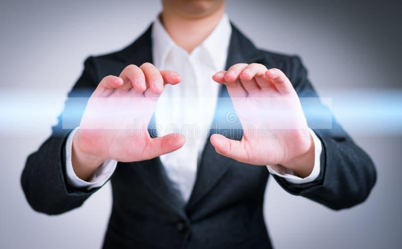 互联网、网络和企业概念 免版税库存图片
