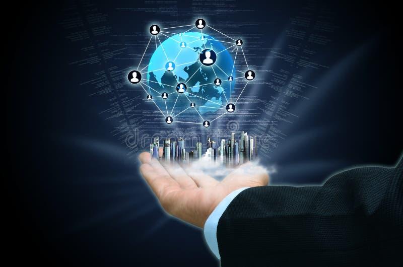互联网企业概念02 免版税图库摄影