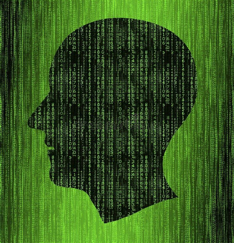 互联网保密性概念 安全的互联网,保密性和密码保护 皇族释放例证