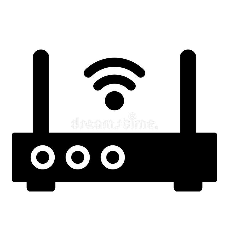互联网助推器隔绝了可能容易地修改或编辑的传染媒介象 皇族释放例证