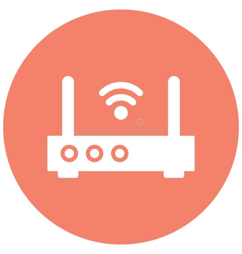 互联网助推器隔绝了可能容易地修改或编辑的传染媒介象 向量例证