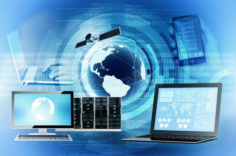 互联网和信息技术 免版税图库摄影