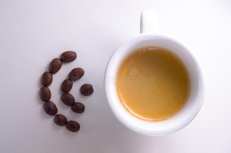 互联网咖啡 免版税库存图片