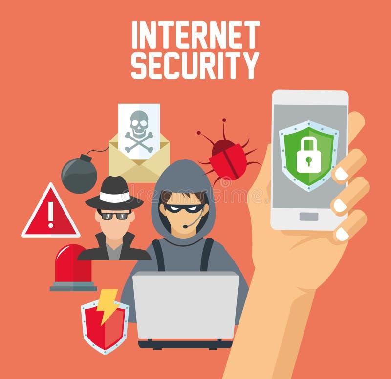 Download 互联网安全设计 系统象 五颜六色的例证,传染媒介 向量例证. 插画 包括有 挂锁, 威胁, 设计, 电子邮件 - 72371755