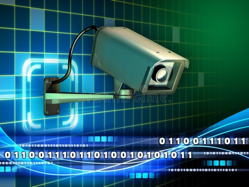 互联网监视 皇族释放例证