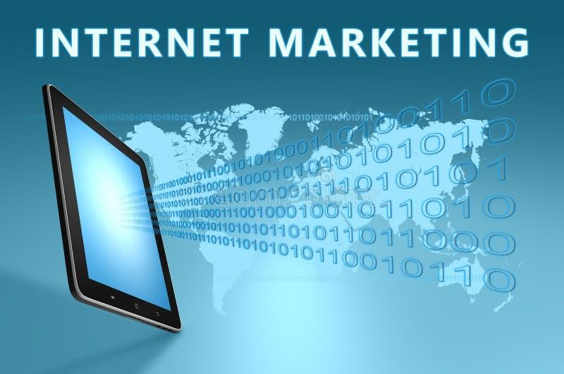 互联网营销 皇族释放例证
