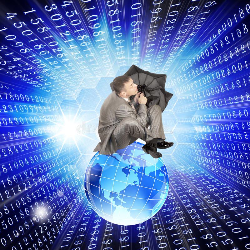 互联网预测 图库摄影
