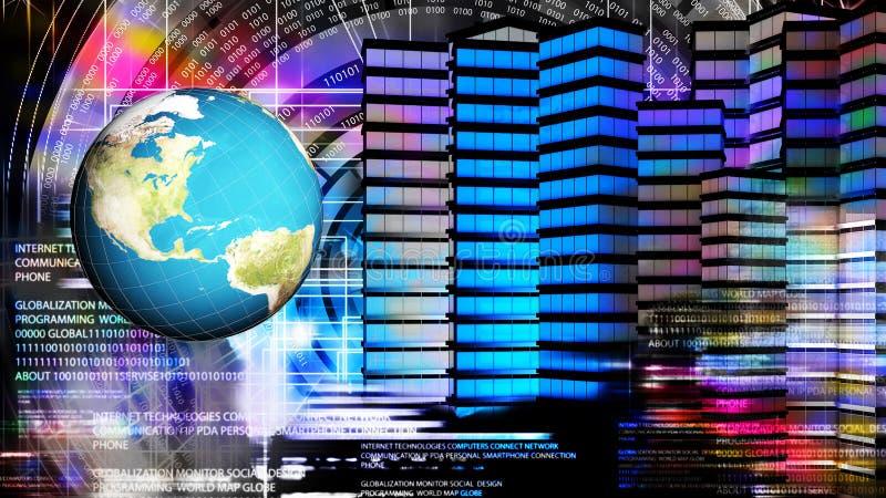互联网 全球化连接技术 免版税图库摄影