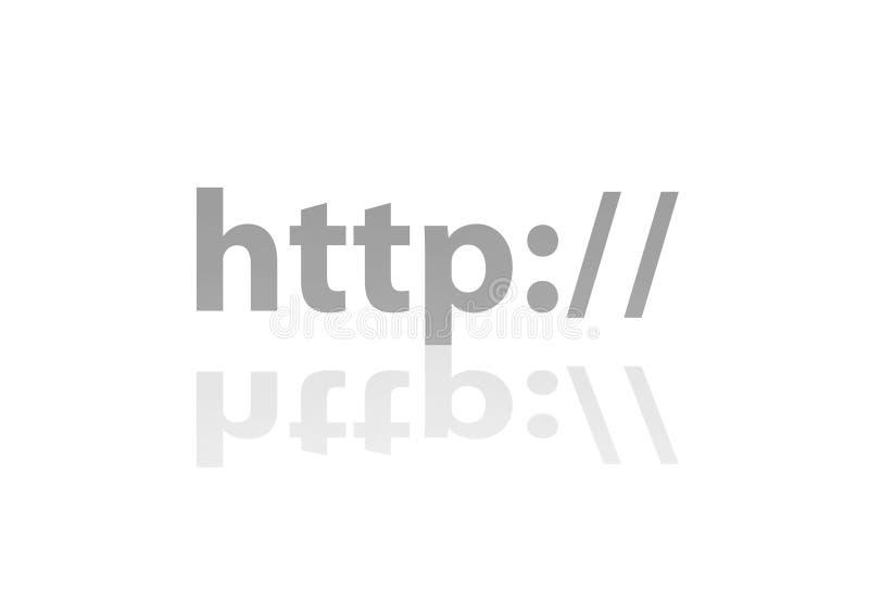 互联网 皇族释放例证