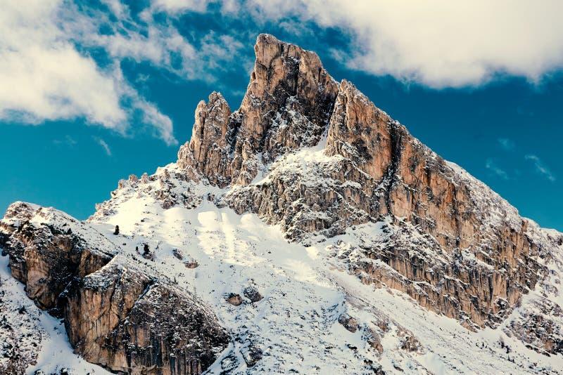 五乡地山在白天 库存照片