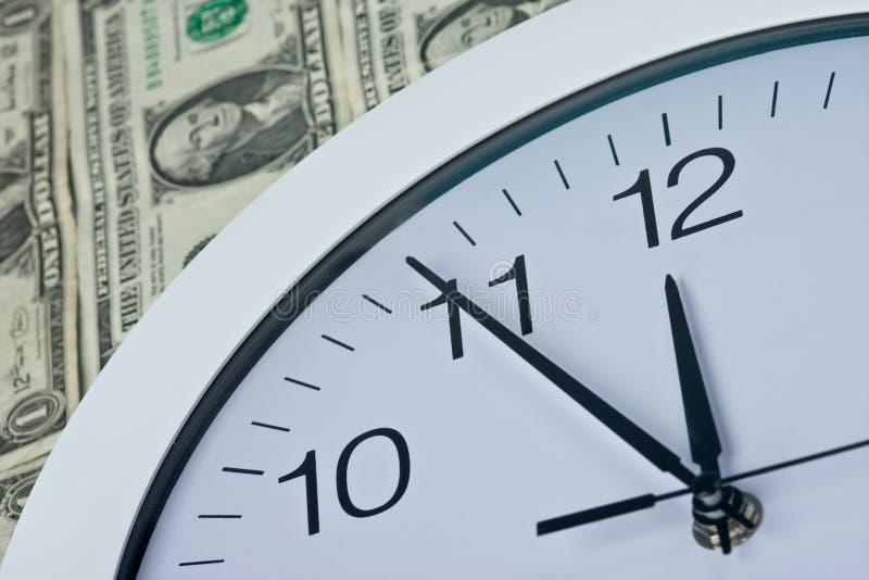五分钟到十二 免版税库存图片