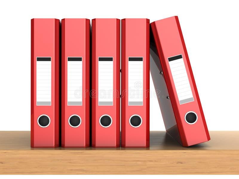 五圆环包扎工具 向量例证