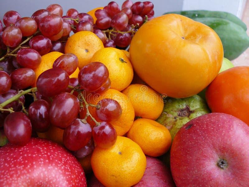 五色的果子 图库摄影