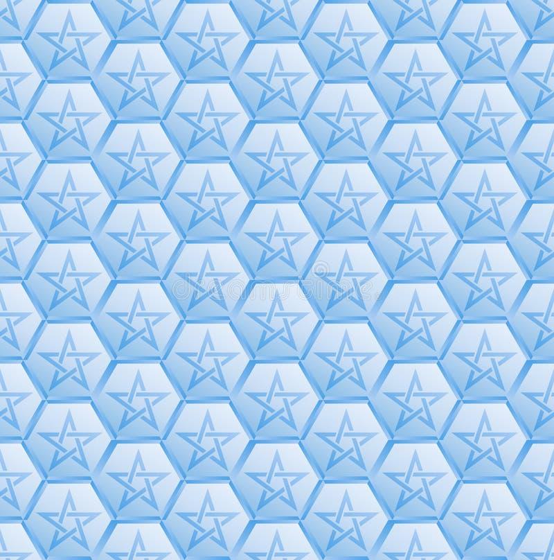 五角星形 皇族释放例证