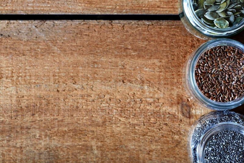 五谷健康有机营养品种  免版税库存图片