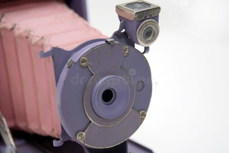 五颜六色古色古香的照相机 免版税库存照片