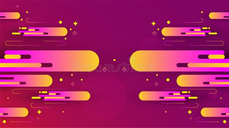 五颜六色抽象的背景 也corel凹道例证向量 免版税图库摄影
