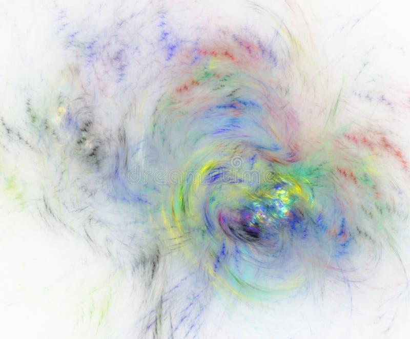 五颜六色抽象的背景 分数维,关于想象力的创造性的纹理背景设计  皇族释放例证