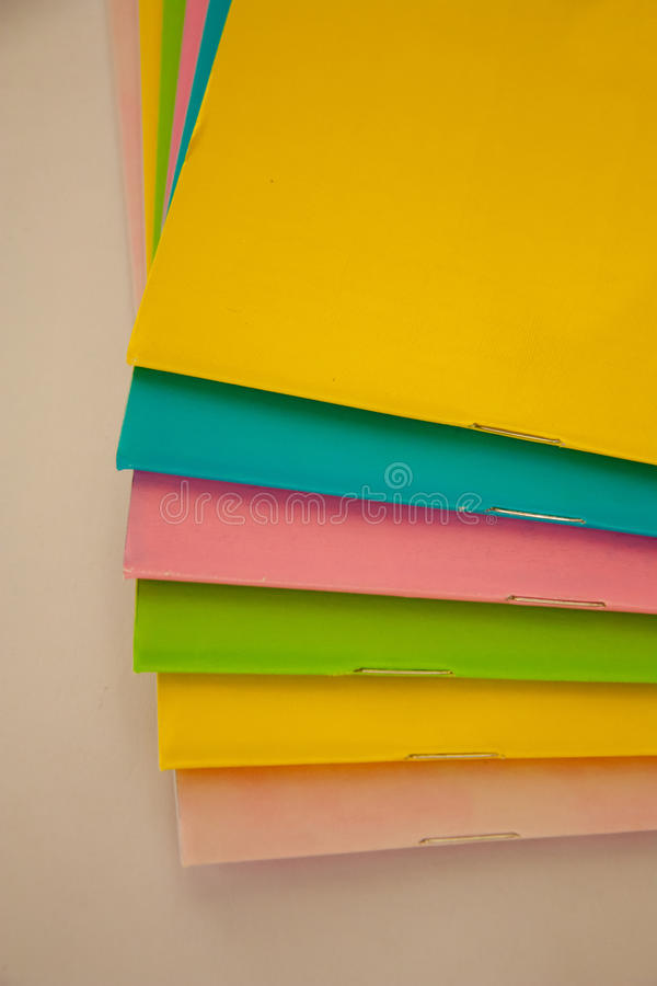 五颜六色的书 免版税图库摄影