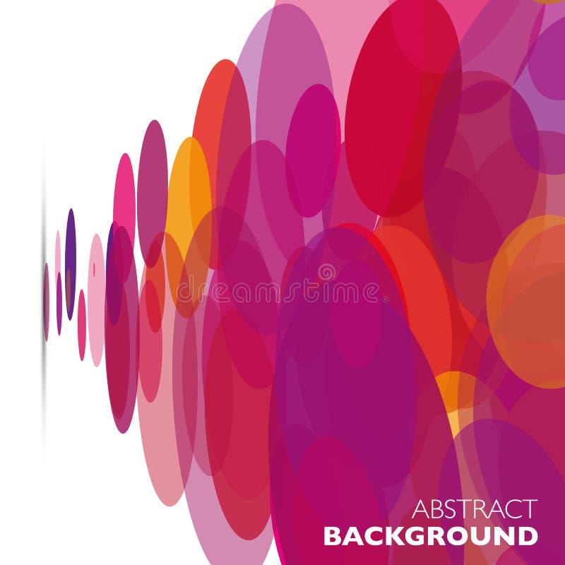 五颜六色的传染媒介摘要几何背景 向量例证