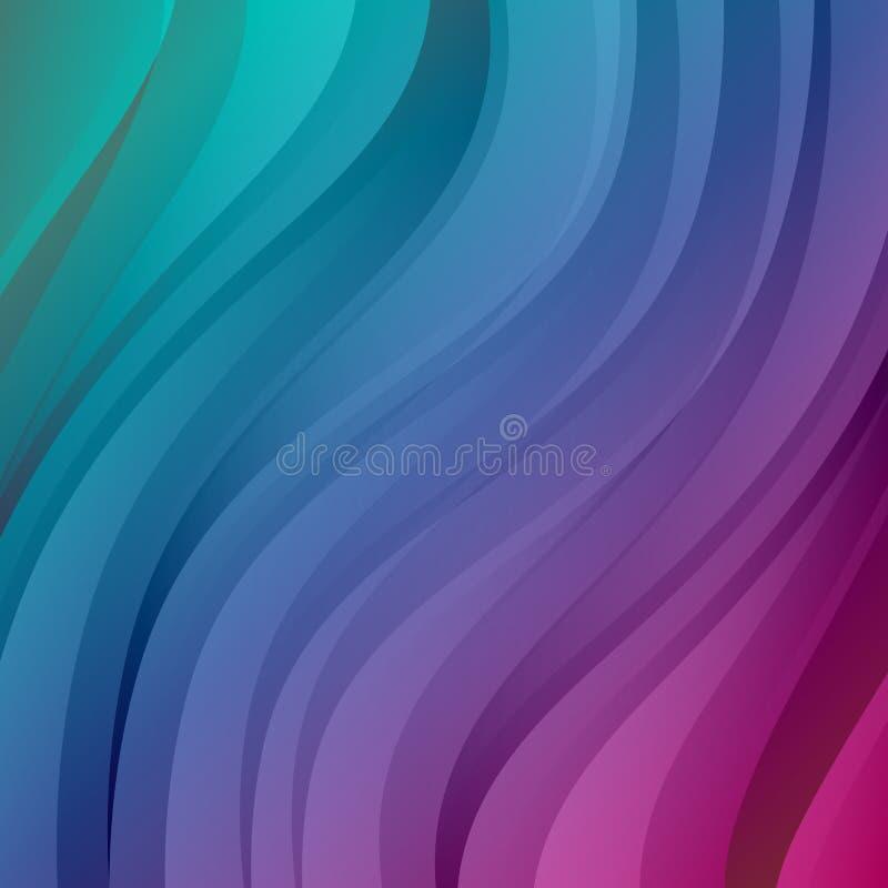 五颜六色的传染媒介摘要背景 向量例证