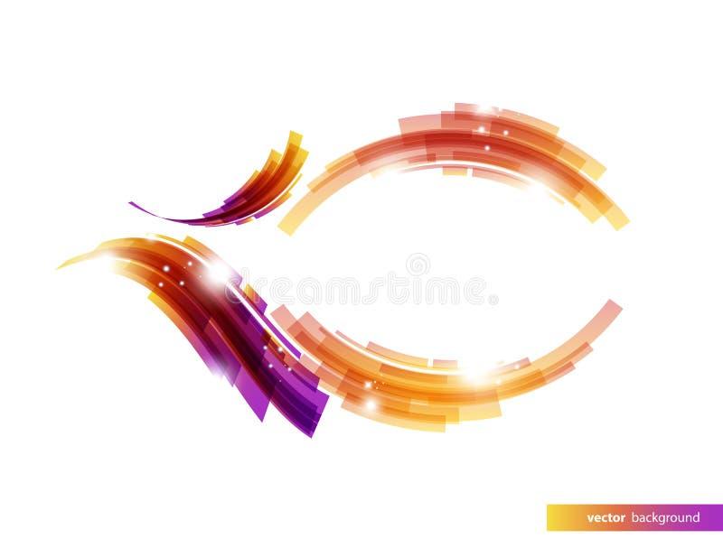 五颜六色的传染媒介背景 向量例证
