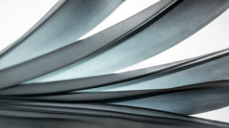 五颜六色的光和抽象形式叶子 免版税库存图片