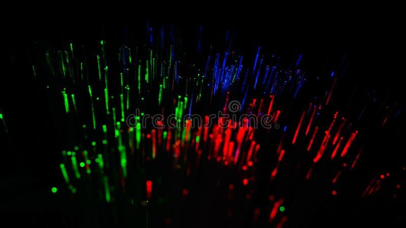 五颜六色的光的抽象图象爆炸 化工颜色 库存图片