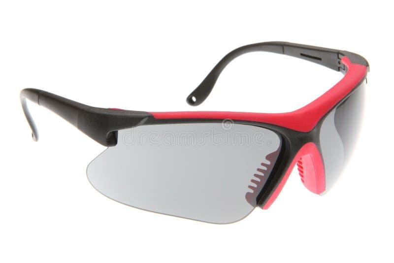五颜六色的冷静方式体育运动太阳镜 免版税图库摄影