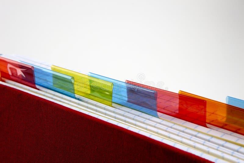 五颜六色的分切器 库存照片