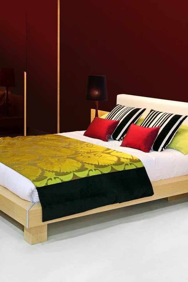 五颜六色的卧室 库存图片