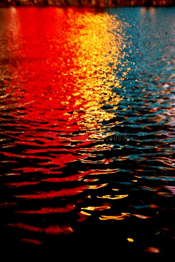 五颜六色的反映 库存图片