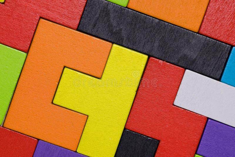 五颜六色的图 特写镜头 免版税库存图片