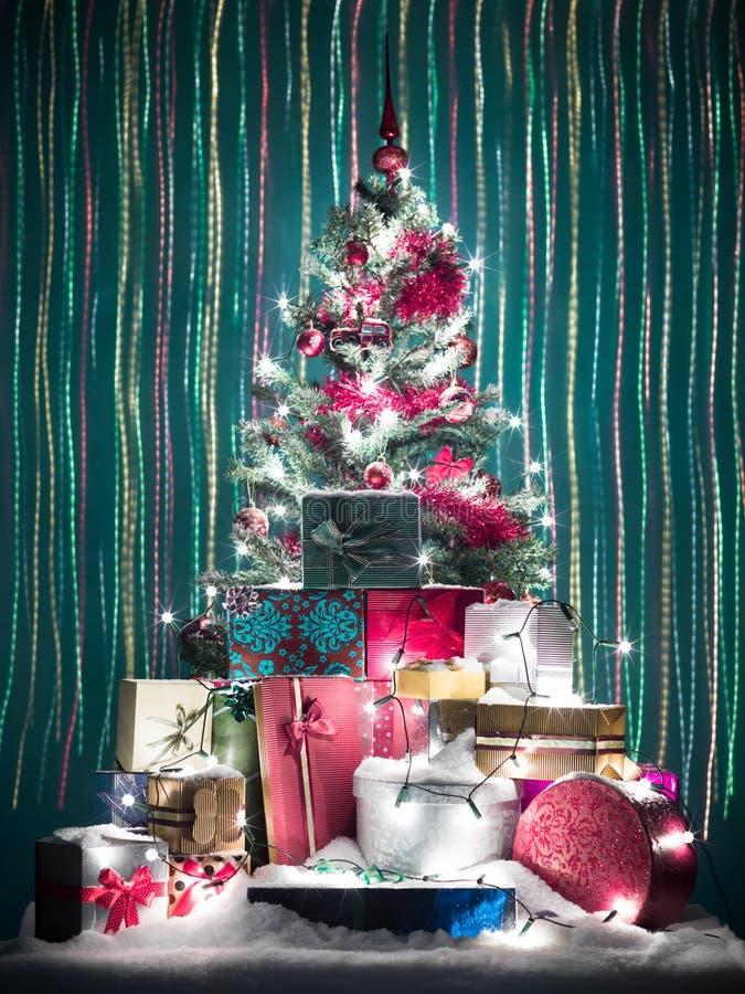 五颜六色的圣诞节 免版税库存照片