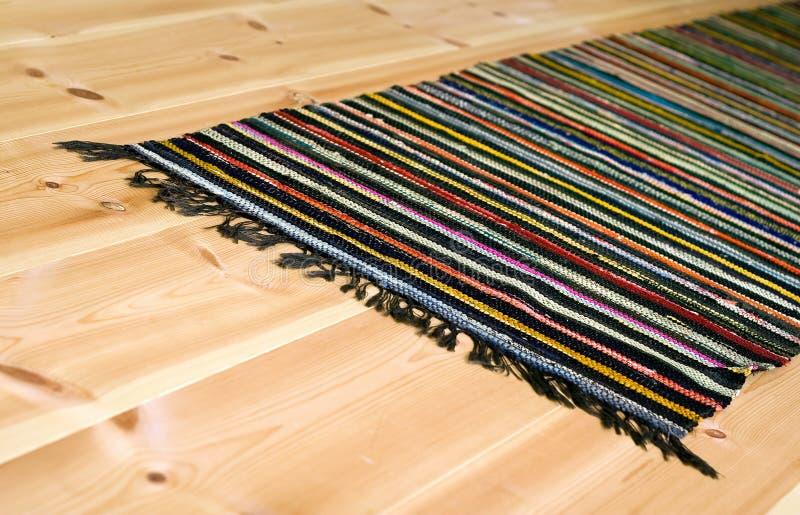 五颜六色的地毯 库存照片