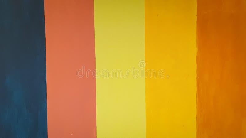 五颜六色的壁画做美好的背景 免版税库存图片