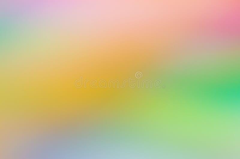 五颜六色的多色的非被聚焦的抽象照片迷离 皇族释放例证