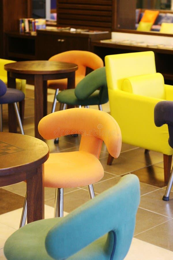 五颜六色的家具 图库摄影