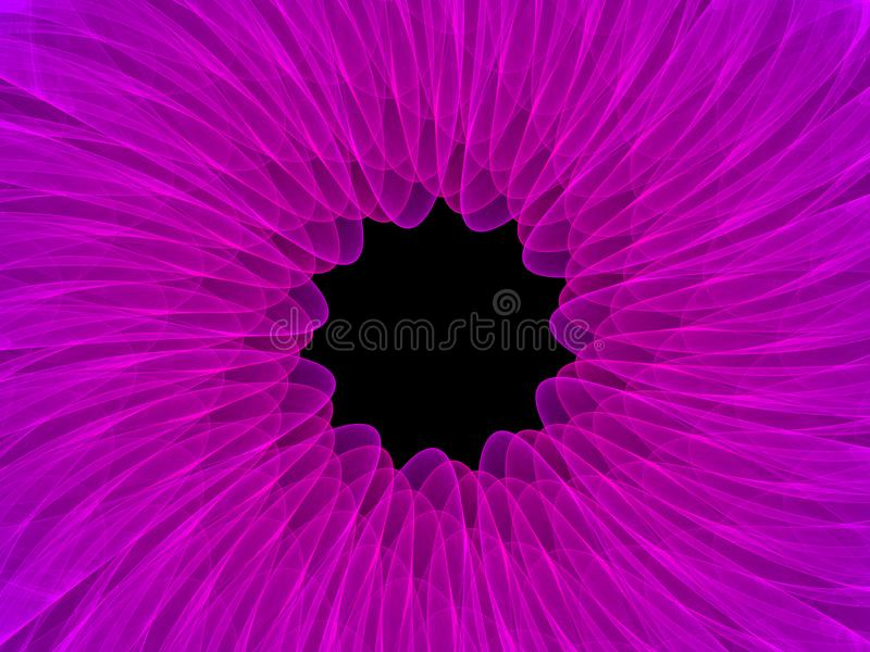 五颜六色的对称抽象背景 向量例证